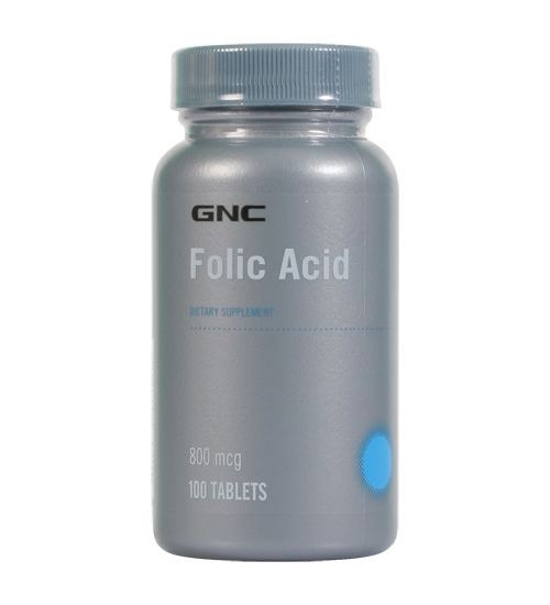 GNC FOLIC ACID 800 (100 VEGITABS - Grocery Deals