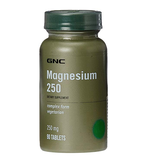 GNC Magnesium 250 - 90 Tablets - Grocery Deals