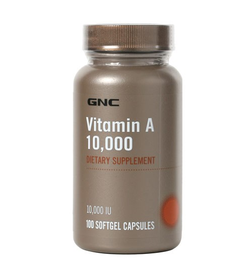 GNC VITAMIN A 10,000 (100 SOFTGELS) - Grocery Deals