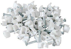 Cable Clips 6mm x 100 Pieces - Grocery Deals
