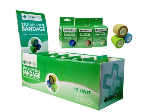 1 x Self Adhesive Bandage (5 x 450cm) - Grocery Deals