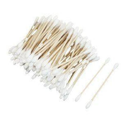 300 Cotton Buds with Wooden Sticks - Grocery Deals