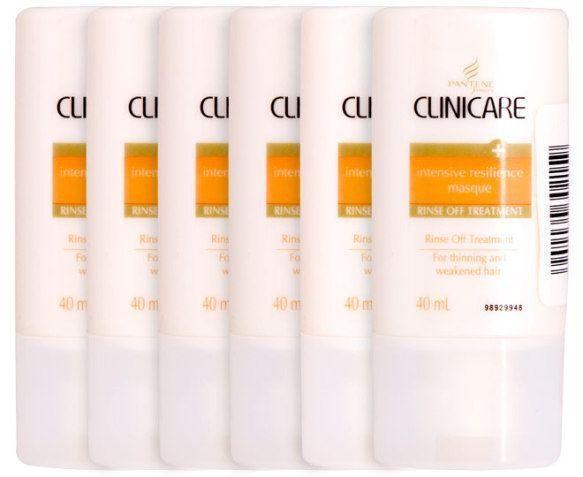 6 x Pantene Clinicare Int Resilience Masque 40mL - Grocery Deals