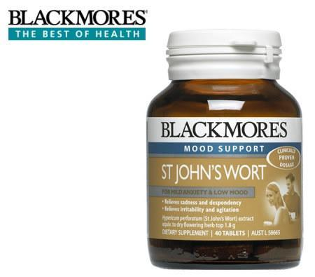 Health & Beauty - Blackmores St John's Wort 40 Tabs