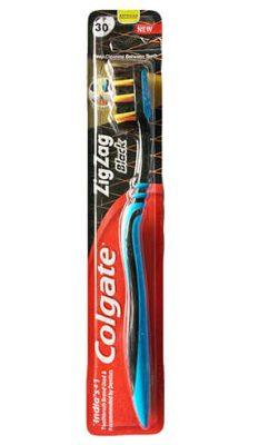 Colgate Zig Zag Charcoal Toothbrush - Medium - Grocery Deals