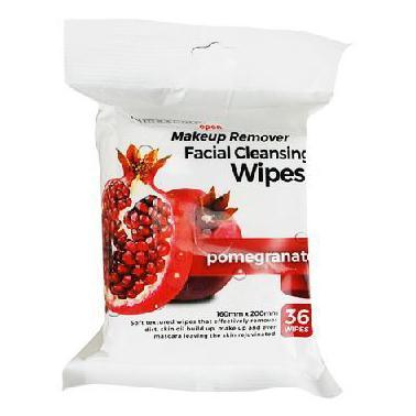 Makeup Cleansing wipes Scented 36's - Pomegranate - Grocery Deals