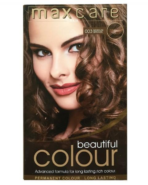 Maxcare Beautiful Colour - 003 Medium Brown - Grocery Deals