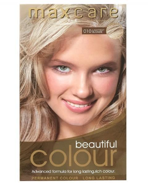 Maxcare Beautiful Colour - 010 Lightest Blonde - Grocery Deals