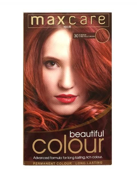 Maxcare Beautiful Colour - 301 Medium Red-Violet Brown - Grocery Deals