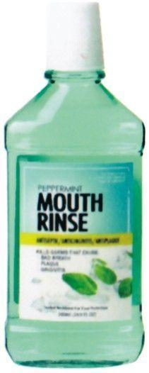 Peppermint Mouth Rinse 500ml - Grocery Deals