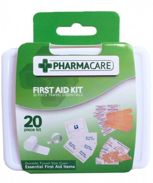 Pharmacare 20 Piece First Aid Travel Kit - Grocery Deals
