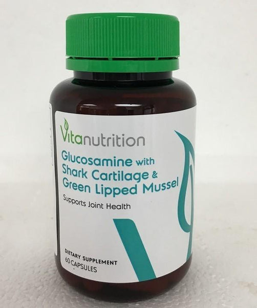 Vitanutrition Glucosamine with Shark Cartilage & Green-Lipped Mussel - Grocery Deals