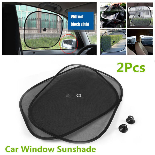 2pcs Car Side Window Mesh Sun Shade - Grocery Deals