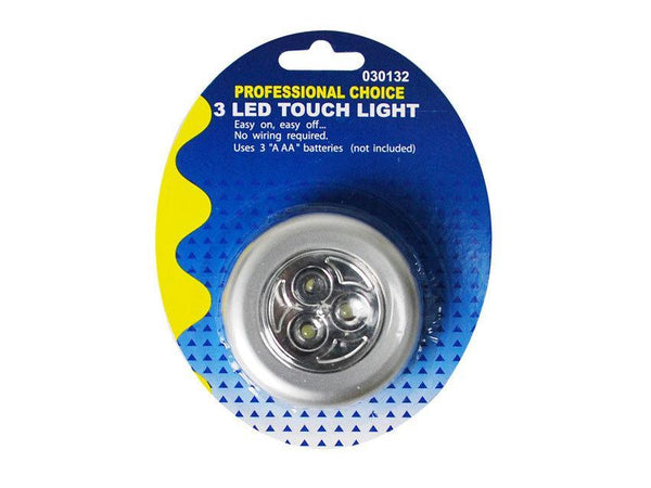 3 LED Round Touch Light - Grocery Deals