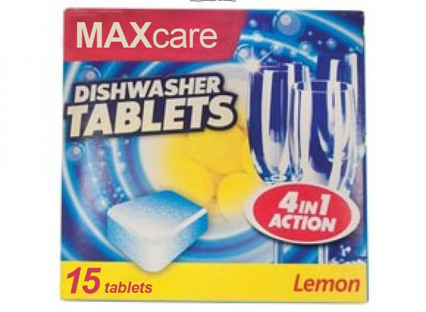 4 in 1 Dishwasher Tablets 15 Pack - Grocery Deals