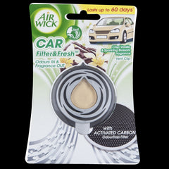Air Wick Auto Filter & Fresh - Crisp Vanilla Sparkling Blossom - Grocery Deals