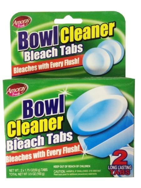 Bowl Cleaner Toilet Bleach Tablets - 2 Pack - Grocery Deals