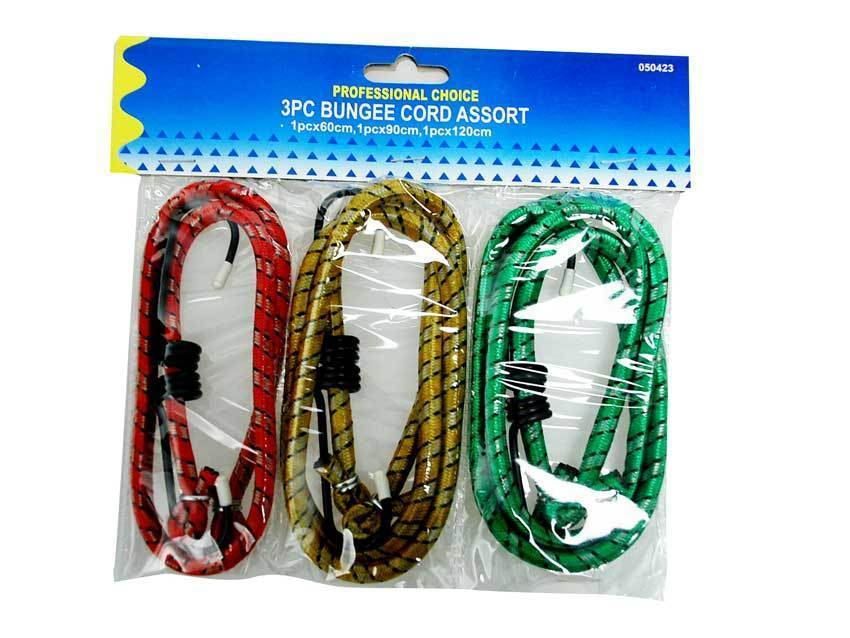 Bungee Cord 3's Assorted Colours - Grocery Deals