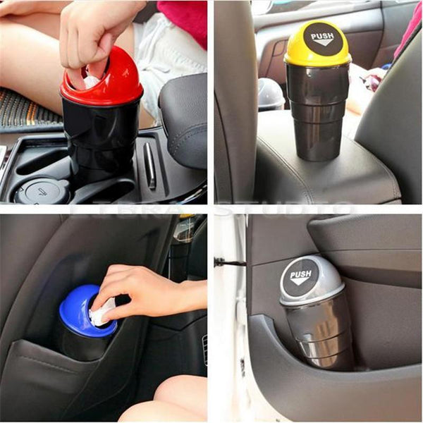 Car Mini Trash Rubbish Bin - Grocery Deals