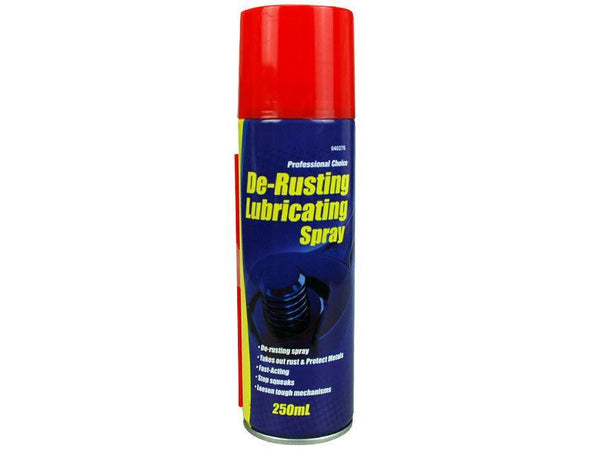 De-Rusting Lubricating Spray 250ml - Grocery Deals