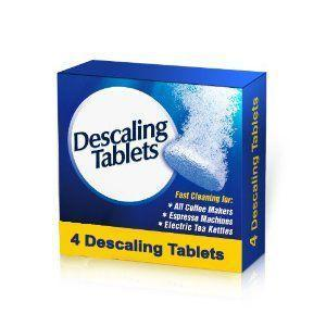 Descaling Tablets for Coffee Machines, Kettles and Irons - Grocery Deals
