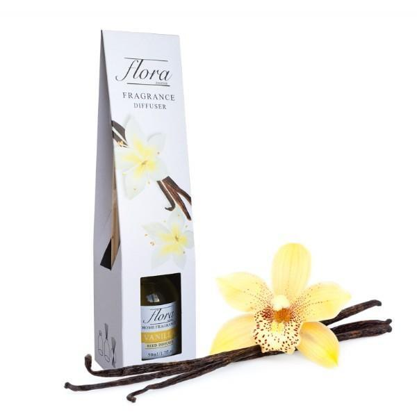 Flora Essense Fragrance Reed Diffuser - Vanilla - Grocery Deals