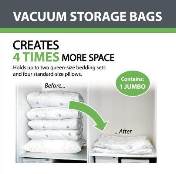 Jumbo Vacuum Storage Bag - Grocery Deals