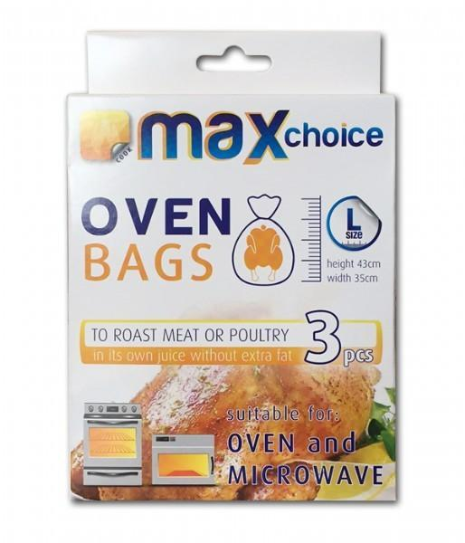 Max Choice Oven Bags Large - 3 Bags - Grocery Deals