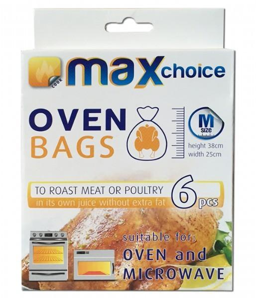 Max Choice Oven Bags Medium - 6 Bags - Grocery Deals