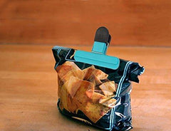Pack of 3 Bag Clips - For Quick and Easy Re-sealing of Opened Food Bags - Grocery Deals