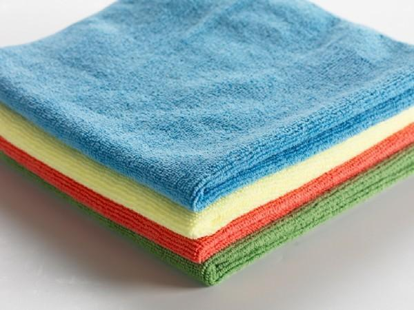 Set of 3 Microfibre Dish Cloths - Grocery Deals