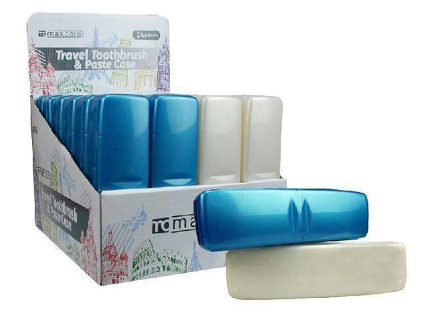 Travel Toothbrush & Paste Case - Grocery Deals