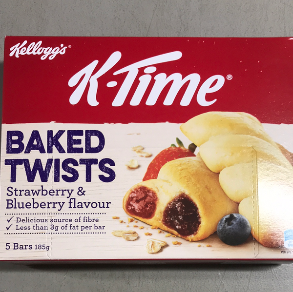 Kellogg's K-Time Baked Twists