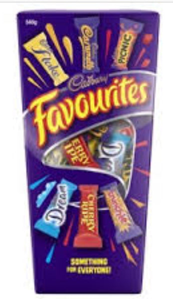 Cadbury favourites 540g - Grocery Deals
