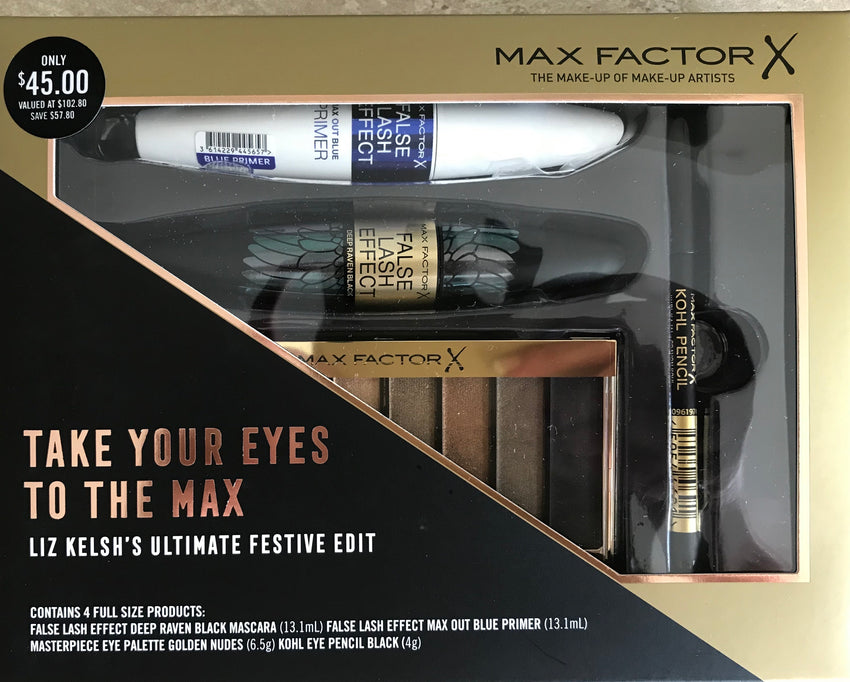 MAX FACTOR  X Eye Gift Set