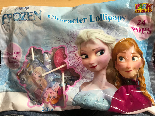 Disney Frozen Character Lollipops