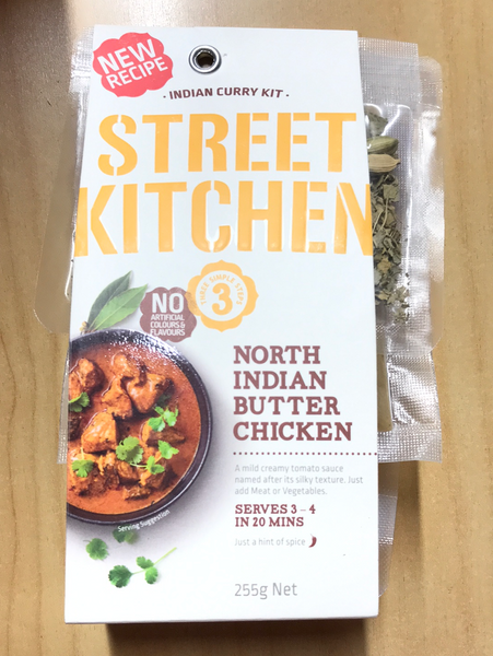 Street Kitchen North Indian butter chicken