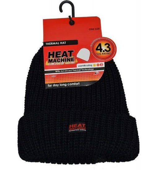 Heat Control Thermal Insulated Hat 4.3 Tog Rating - Grocery Deals