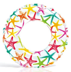 Intex: Lively Print Swim Ring - Stars 61cm - Grocery Deals