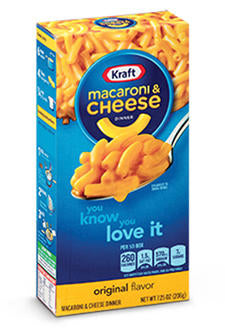 Kraft Mac & Cheese Dinner