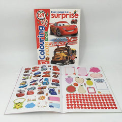 Lightning McQueen Colouring and Sticker Book