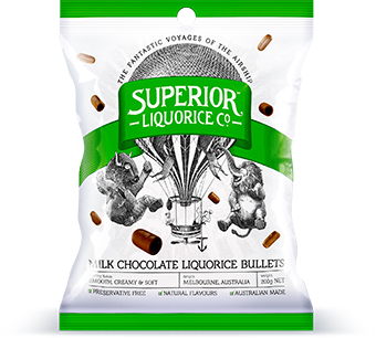 Milk Chocolate Liquorice Bullets - Grocery Deals