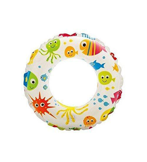 Intex: Lively Print Swim Ring - Fish  51cm