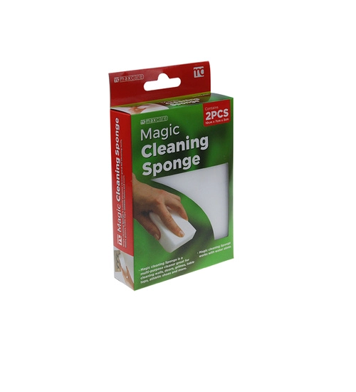 Magic Cleaning Sponge 100x70x30mm 2's