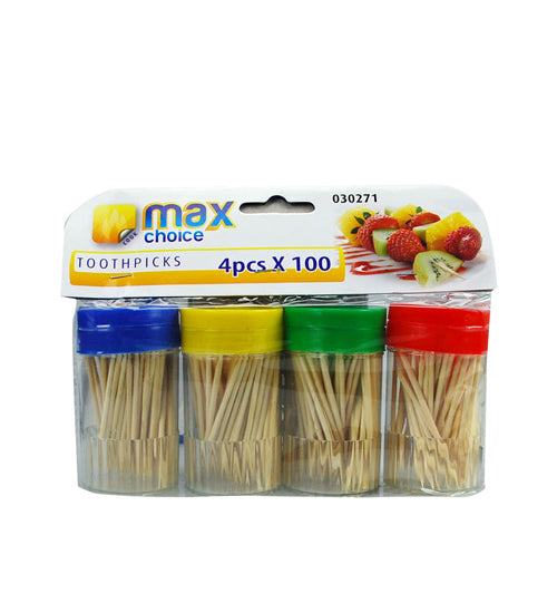 Max Choice Toothpicks 50 x 4's - Grocery Deals