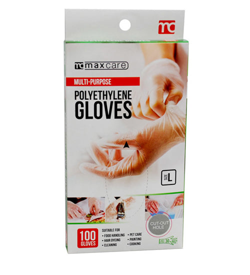 Maxcare Multi Purpose Polyethylene Gloves