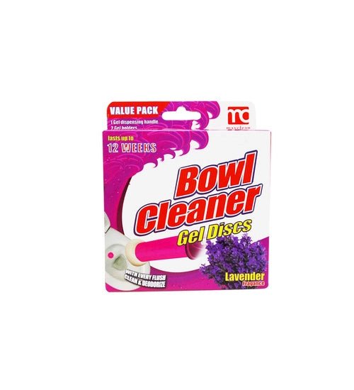 Maxclean Toilet Cleaning Gel 12 shots Lavender