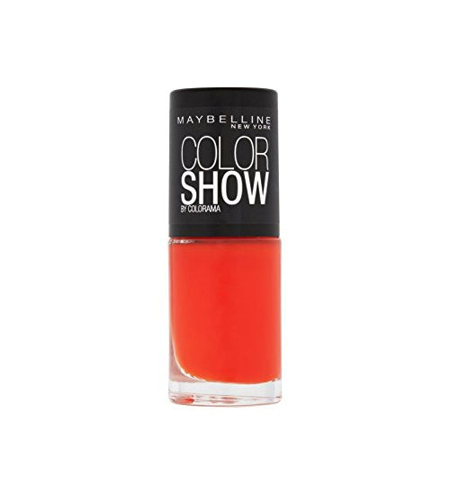 Maybelline Color Show Nail Polish – No. 191 Orange Fix