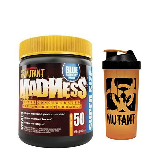 MUTANT MADNESS PRE-WORKOUT + SHAKER - Grocery Deals
