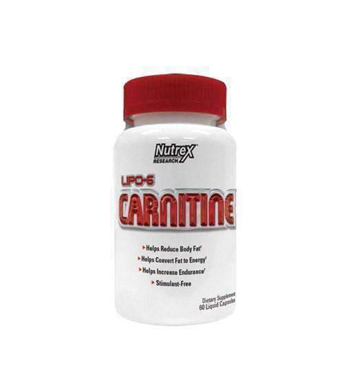 NUTREX CARNITINE 60 Caps - Grocery Deals